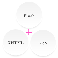 Flash+XHTML+CSS