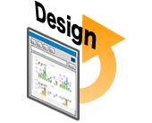 ブラウザを使うことにより画面デザインが飛躍的に向上。